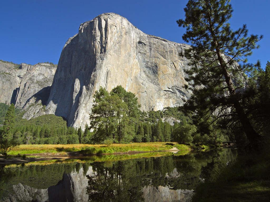 El Capitan - A maior pedra de granito do mundo