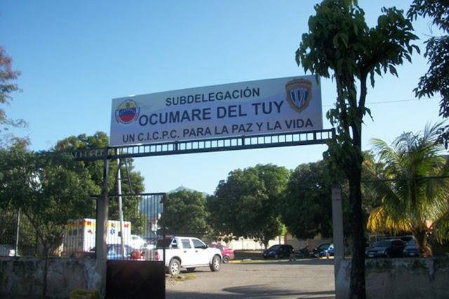 17 sujetos violentos se escaparon de los calabozos del CICPC en Ocumare