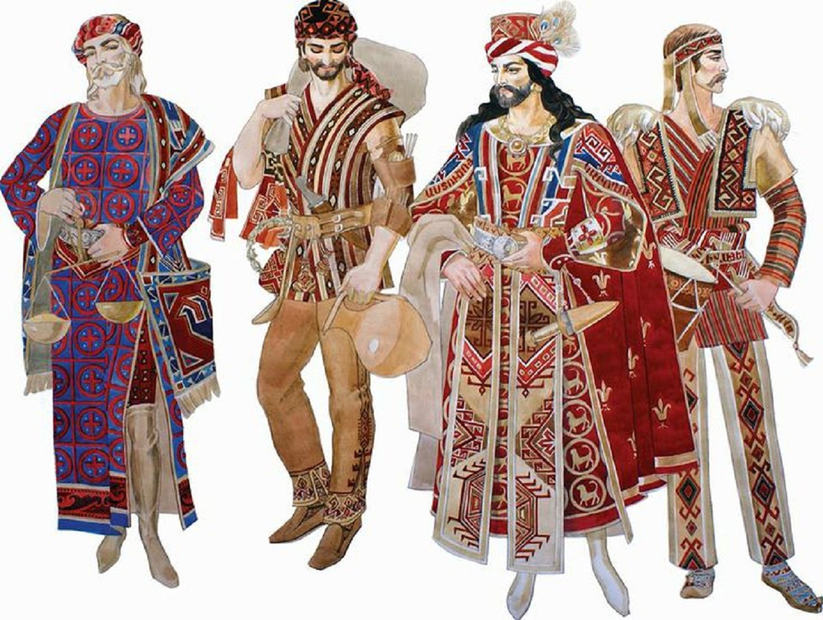 walking distance & et cetera -: Armenian Traditional Clothing