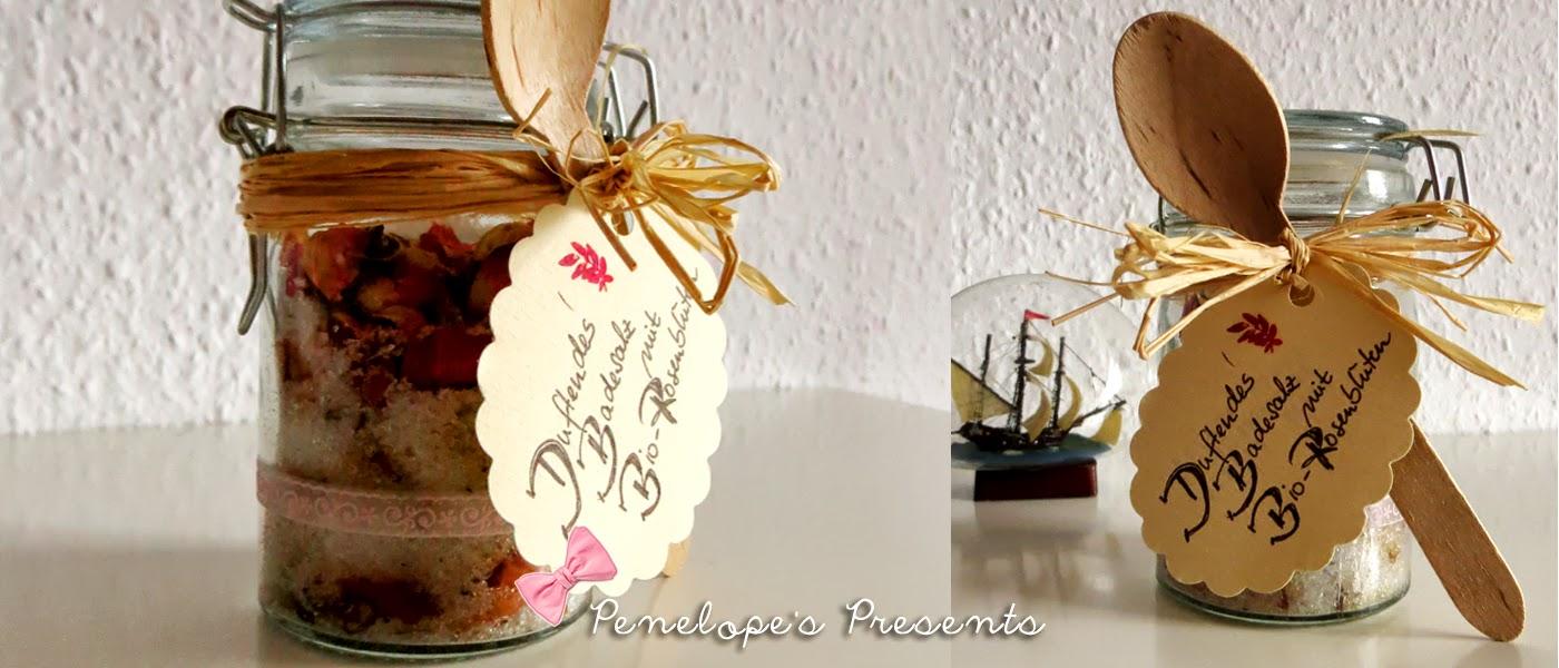 penelope 39 s presents kleine geschenke von einer lieben freundin. Black Bedroom Furniture Sets. Home Design Ideas