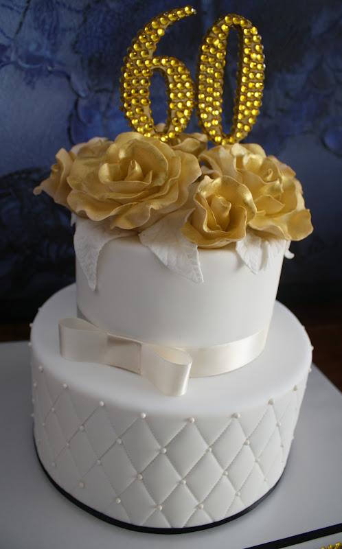 Sandy S Cakes Judite S Golden 60th