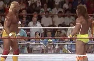 WWF / WWE Royal Rumble 1990 - Hulk Hogan vs. Ultimate Warrior