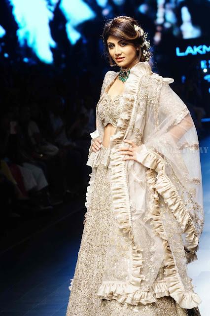 Shilpa Shetty Lakme Fashion Week Image