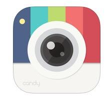 تحميل برنامج كاميرا تصوير والتعديل على الصور 2017 للاندرويد و الايفون مجانا Candy Camera