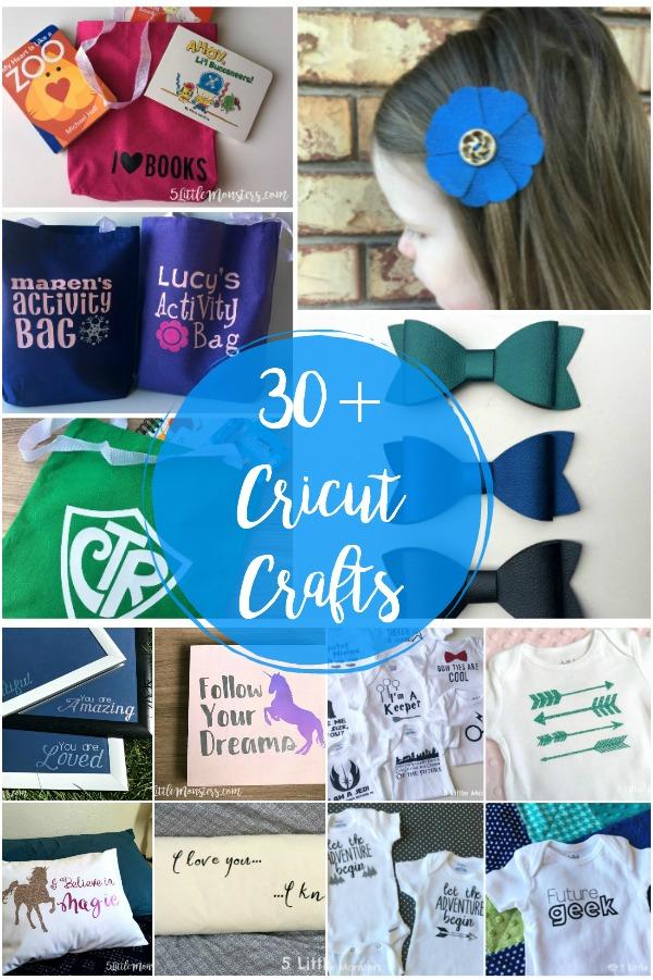 5 Little Monsters Cricut 101 30 Cricut Projects