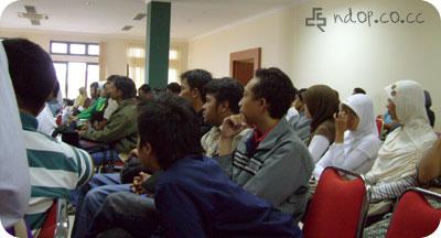 peserta Seminar Blogger UB