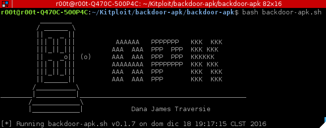backdoor-apk - shell script that simplifies the process of