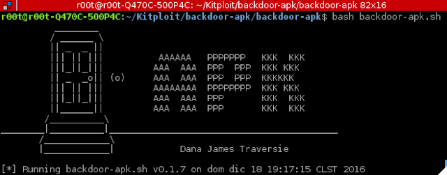 backdoor-apk – shell script that simplifies the process of