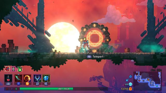 Dead Cells - teleporter