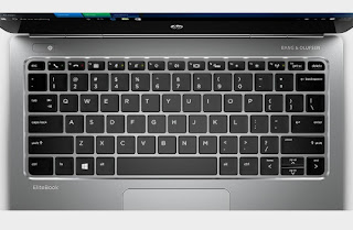 HP EliteBook Folio G1 backlit keyboard