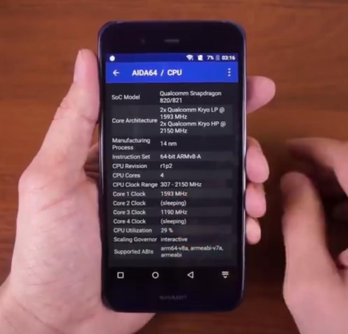 Review Sharp SHV34 (Sharp Xx3), Smartphone Snapdragon 820