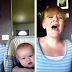 "Mom gets the camera, records herself singing an incredible cover of ""Hallelujah"" with her baby"