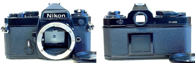 Nikon FE (Black) Body #238