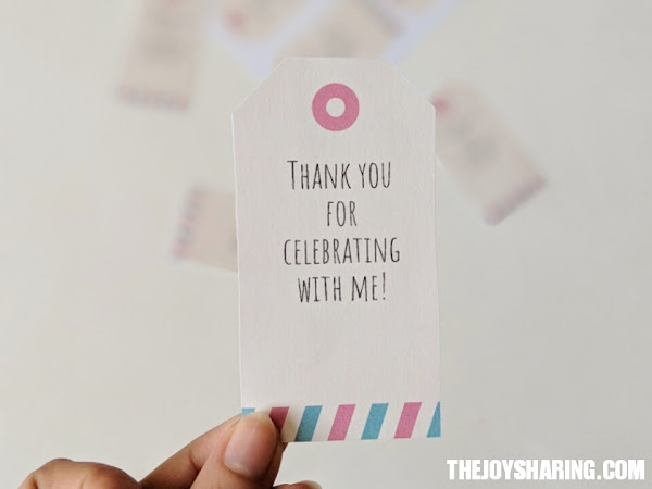 Thank You Gift Tags Free Printable Template The Joy Of Sharing