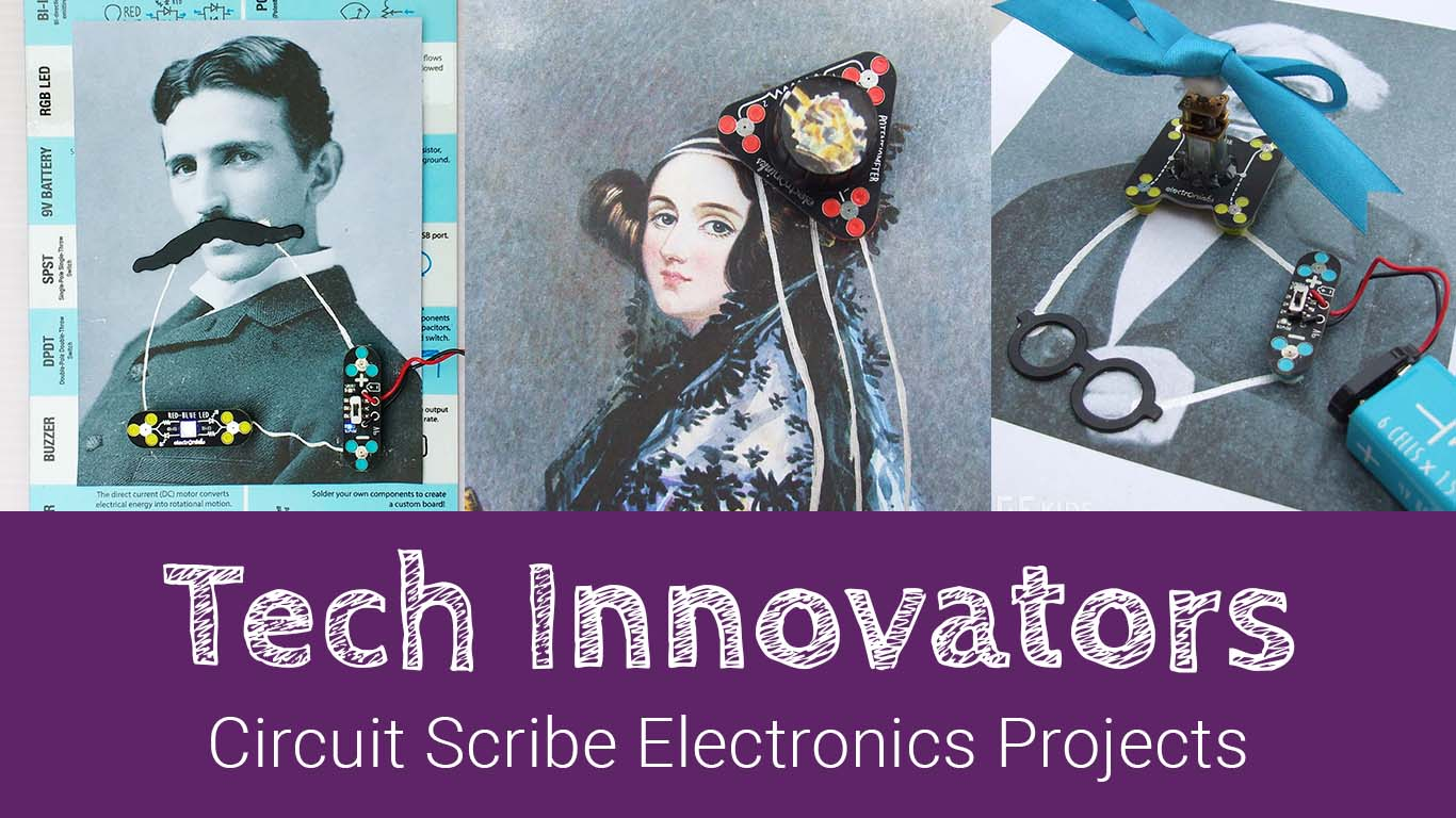 Circuit Scribe Tech Innovators Projects Fun Family Electronics Minecraft Electronic