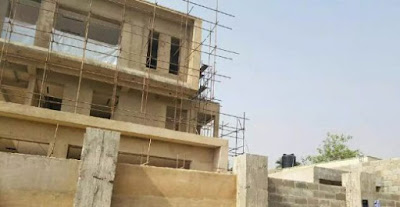 Fraudsters Arrested While Trying To Sell Governor Amosun's Uncompleted House In Abeokuta