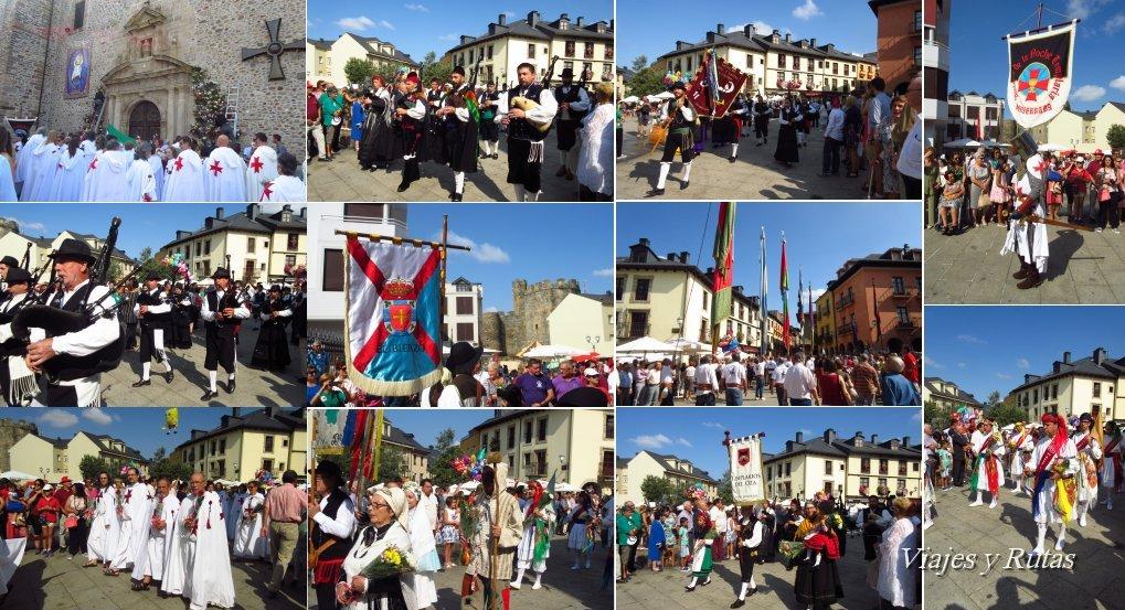 Fiestas de la Virgen d ela Encina en Ponferrada