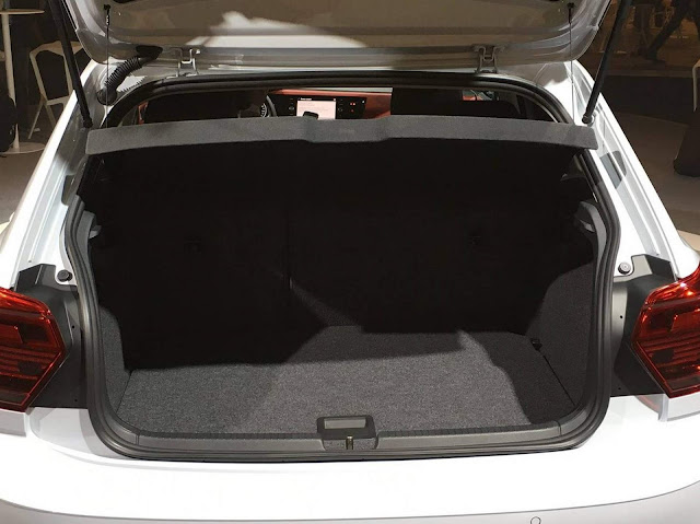 Novo VW Polo 2018 - porta-malas