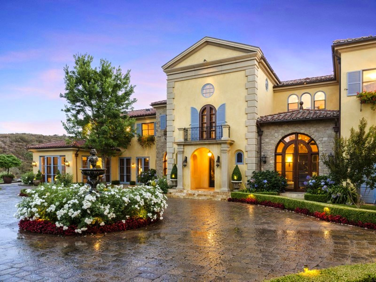 A Majestic Estate On Approximately 16 Lushly Landscaped