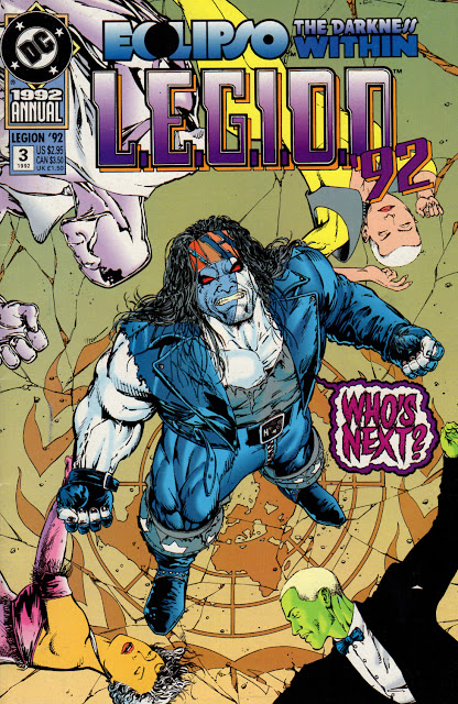 Best Event Ever! Eclipso: The Darkness Within - L.E.G.I.O.N. Annual #3 (1992)