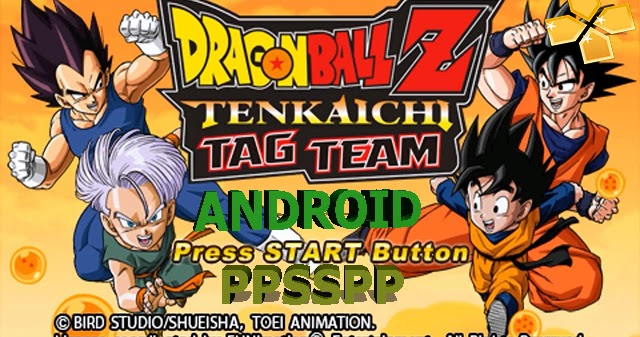 descargar dragon ball tag team para ppsspp español