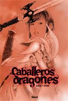 """Portada del cómic """"Caballeros dragones"""", de Ange y Dohe"""
