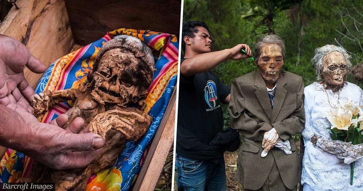 These Indonesian Villagers Dig Up Their Dead For An Annual Festival Celebrating The Lives Of Those They Have Lost