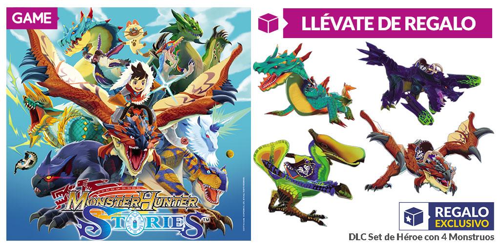 Consigue este DLC exclusivo de Monster Hunter Stories de Nintendo 3DS con GAME