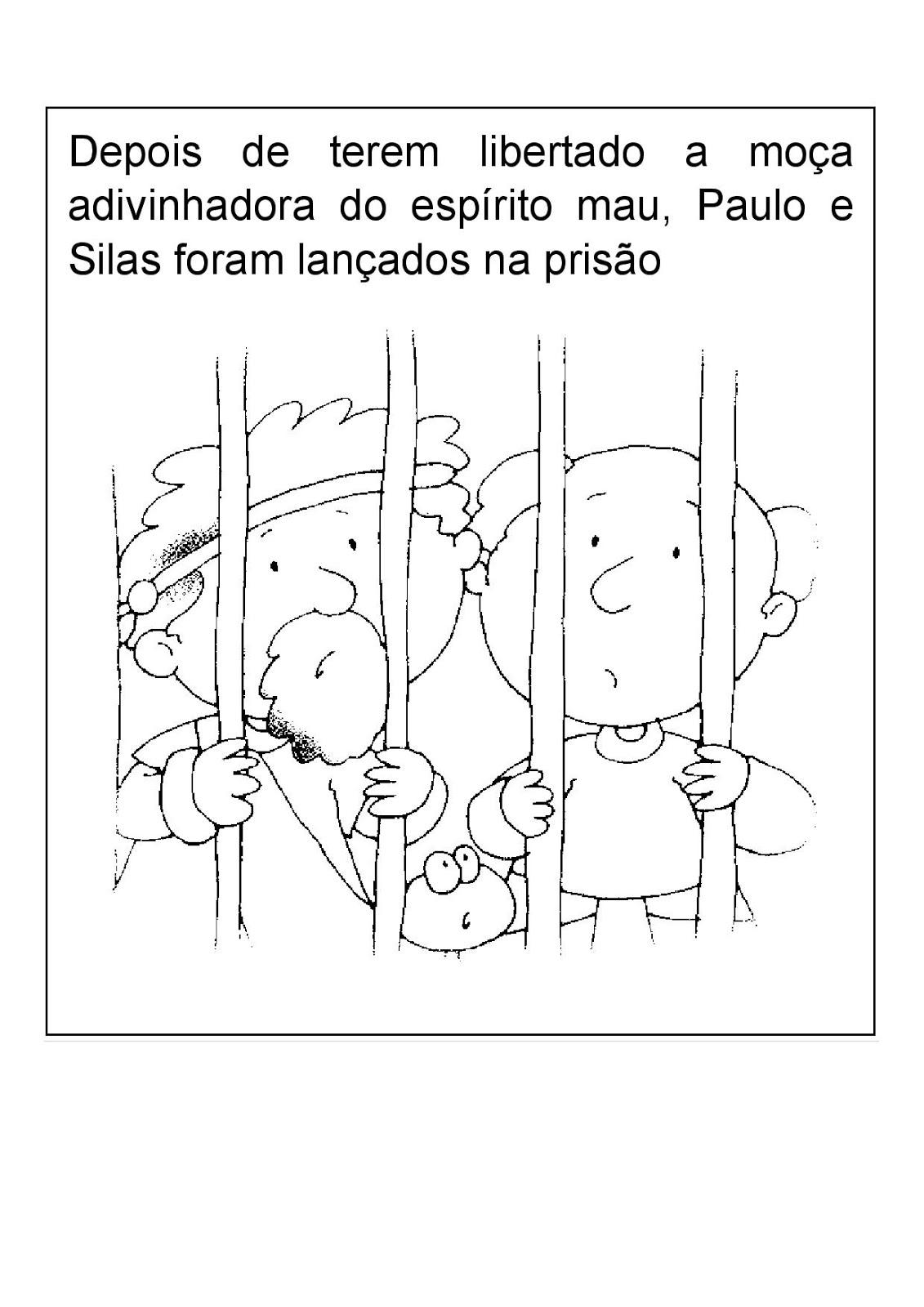 Ministerio Infantil Cascavel Atividade Quarta Paulo E Silas Na
