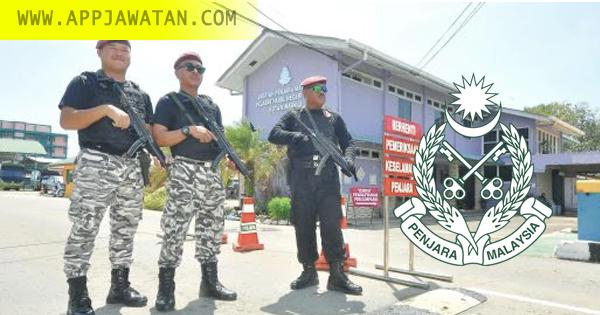Jawatan Kosong kerajaan di Jabatan Penjara Malaysia (Penjara)