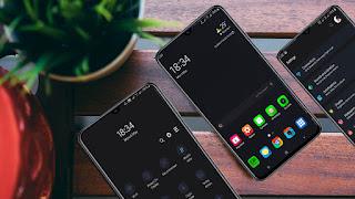 Download MI Dark Night Theme Oneui Samsung Pie 9.0 apk