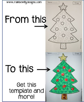 Christmas craft templates