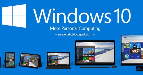 Fungsi Terbaru Windows 10   SANoktah