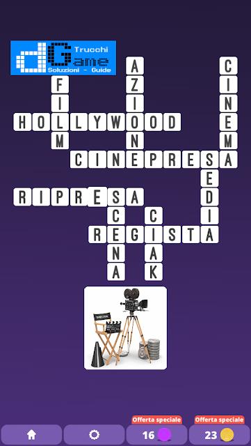 Soluzioni One Clue Crossword livello 12 schemi 15 (Cruciverba illustrato)  | Parole e foto