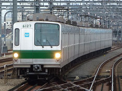 【5年前の幕車】メトロ6000系の多摩急行 唐木田行き(2012.9運行終了)