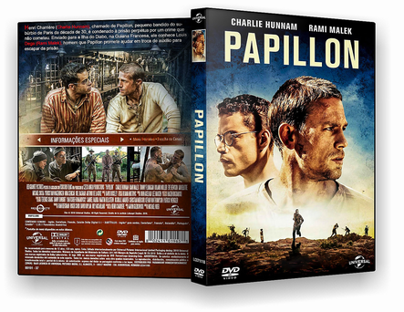 CAPA DVD – PAPILLON DVDR OFICIAL LEGENDADO – ISO