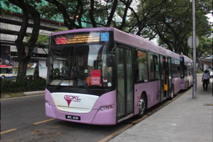 Fasilitas Bus Gratis