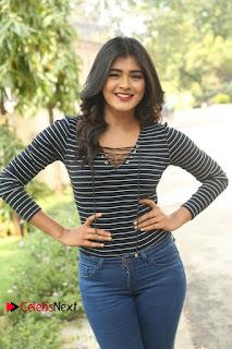 Actress Hebah Patel Stills in Jeans at Nanna Nenu Naa Boyfriends Teaser Launch  0061