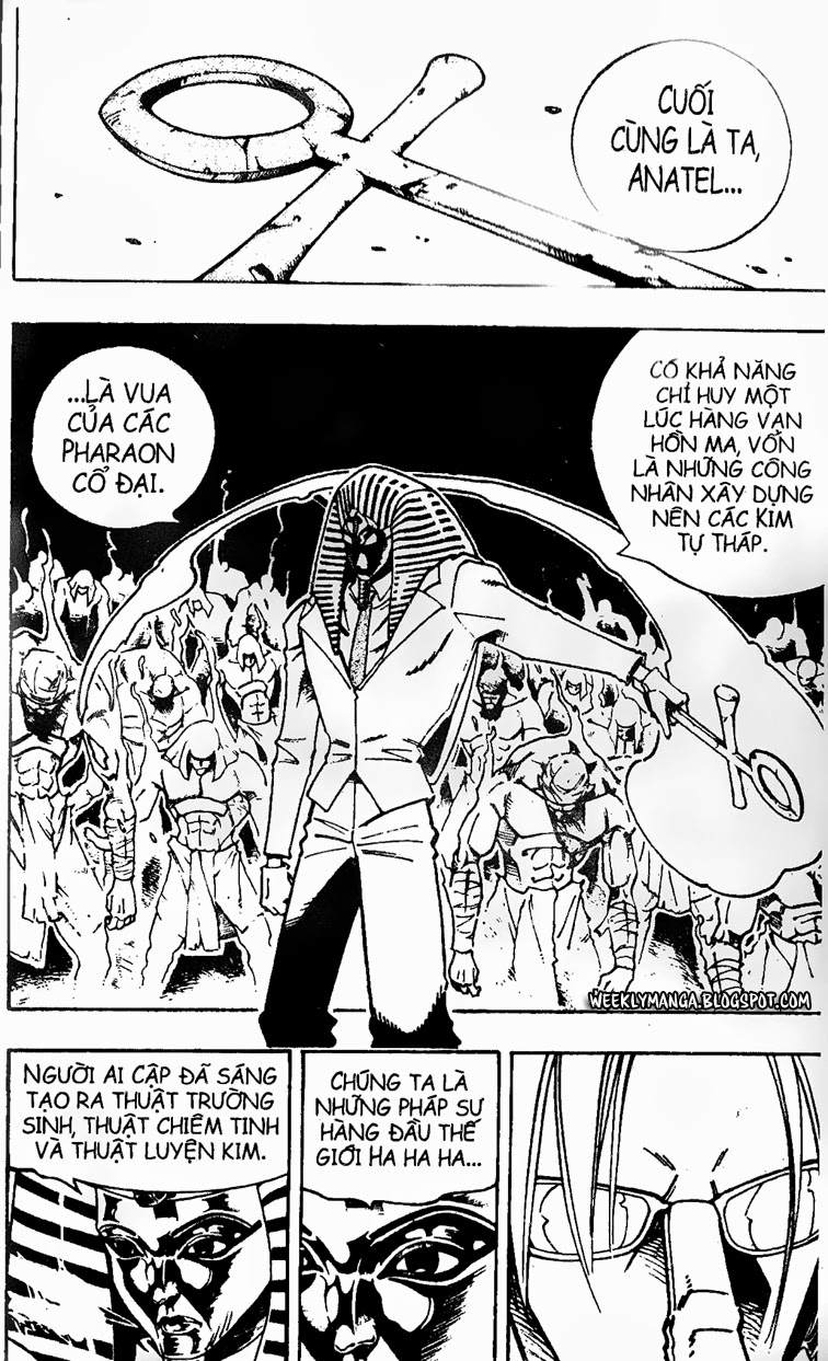 Shaman King [Vua pháp thuật] chap 121 trang 9