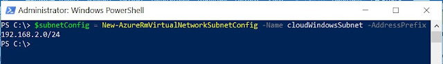 Subnet Details