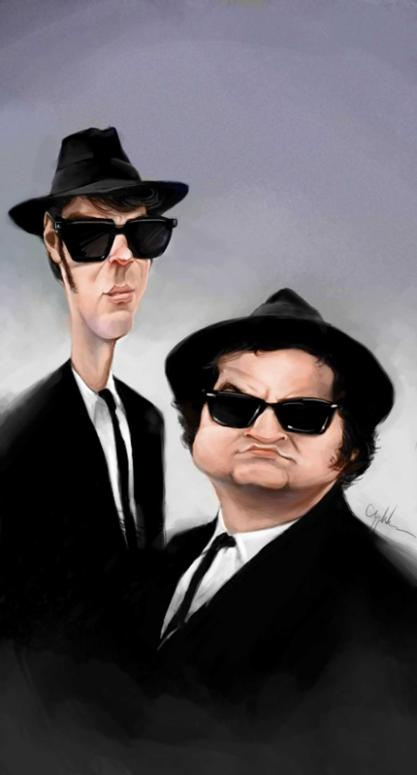 The Blues Brothers por Will Appledorn