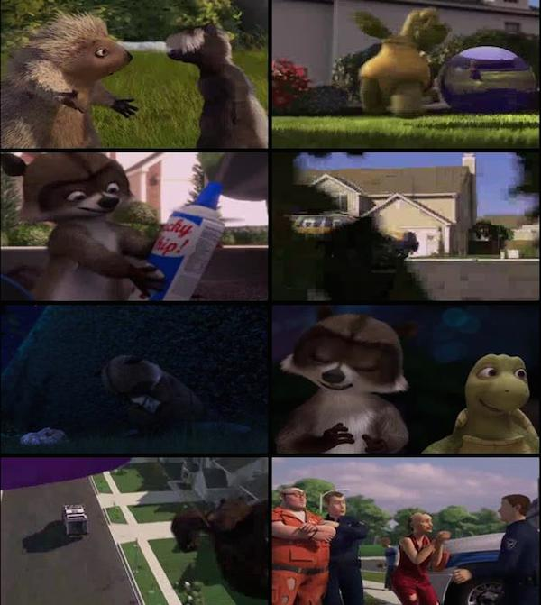 Over the Hedge 2006 Dual Audio Hindi BRRip 480p