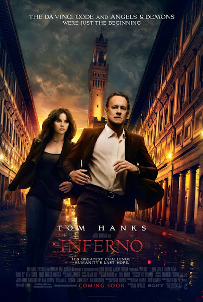 Poster of Inferno 2016 Hindi 720p BRRip Dual Audio Full Movie Download