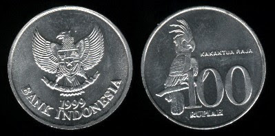 Indonesia  100 Rupiah (1999) Coin