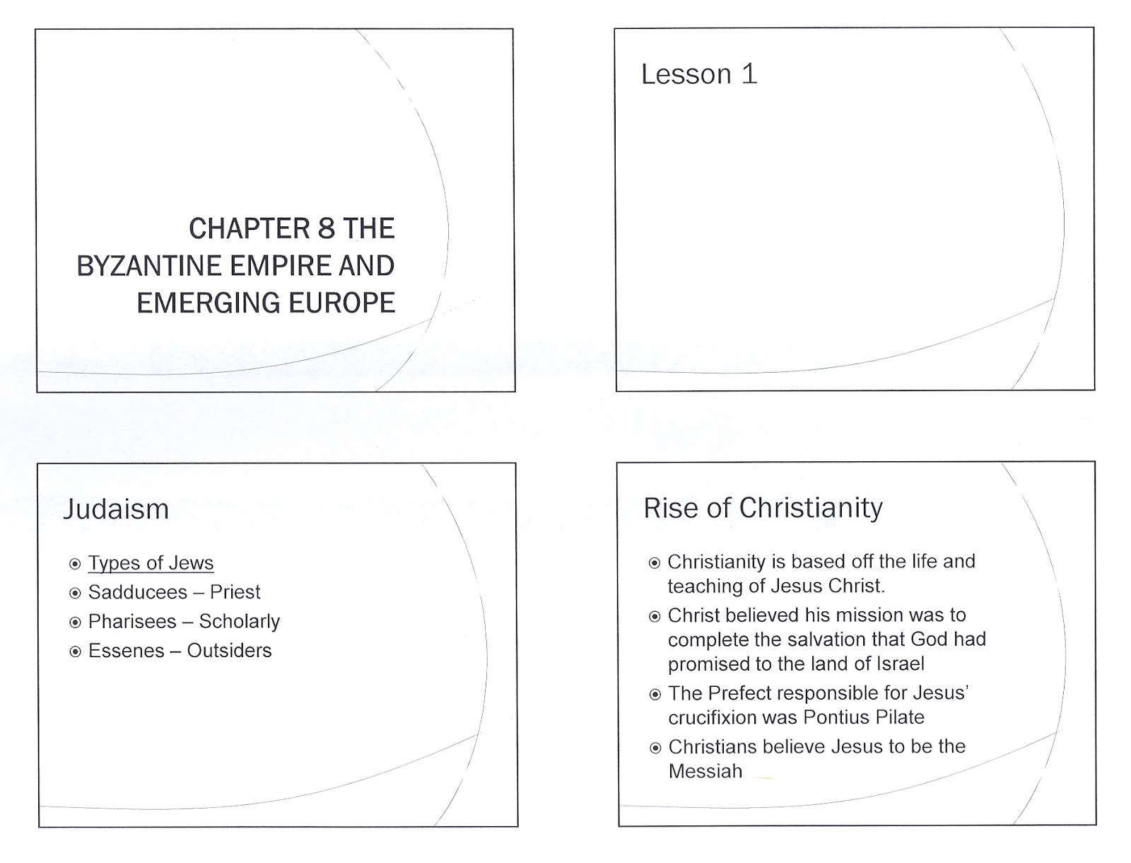Mr E S World History Page Chapter 8