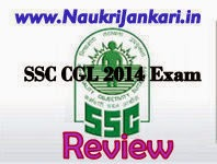ssc cgl 2014 exam review