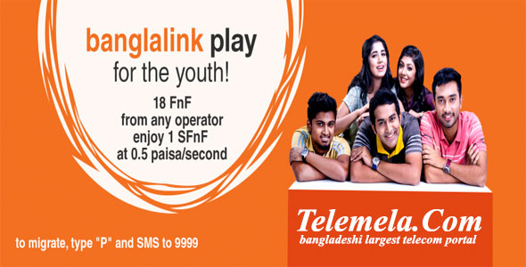 Banglalink Play prepaid package