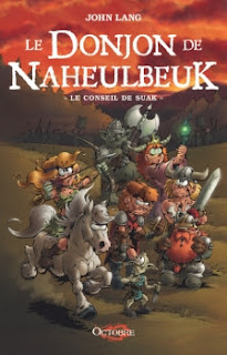 Le conseil de Suak - Le Donjon de Naheulbeuk (Romans), tome 3 / saison 5 de John Lang