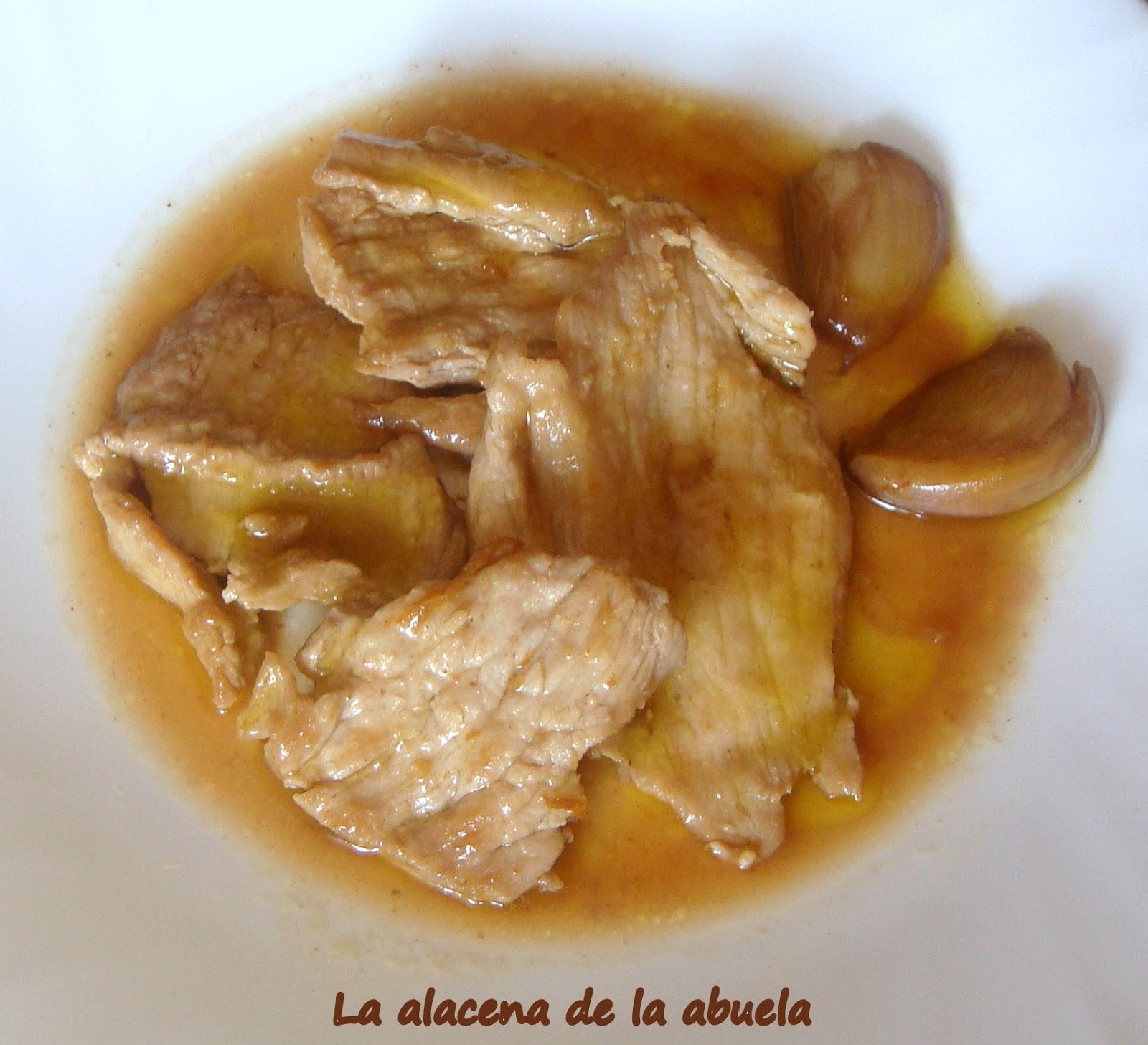 La Alacena De La Abuela Carmen Solomillo Al Whisky