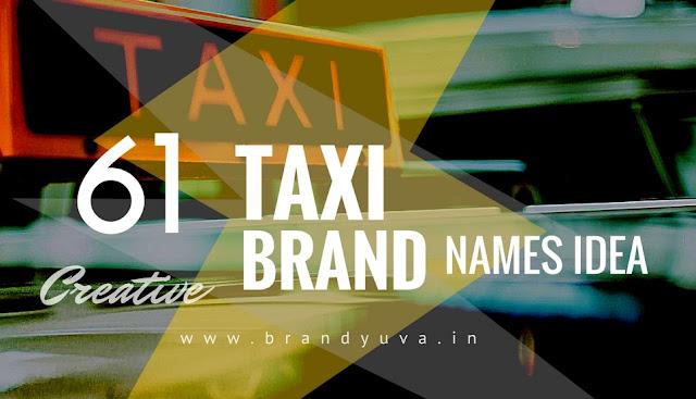 taxi brand names idea